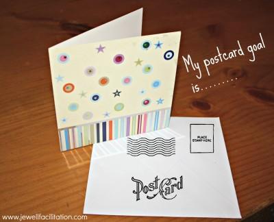 Postcard Goal