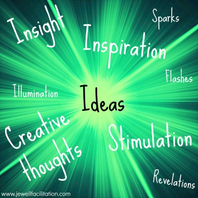 flashes of ideas