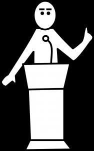 presentation, speech