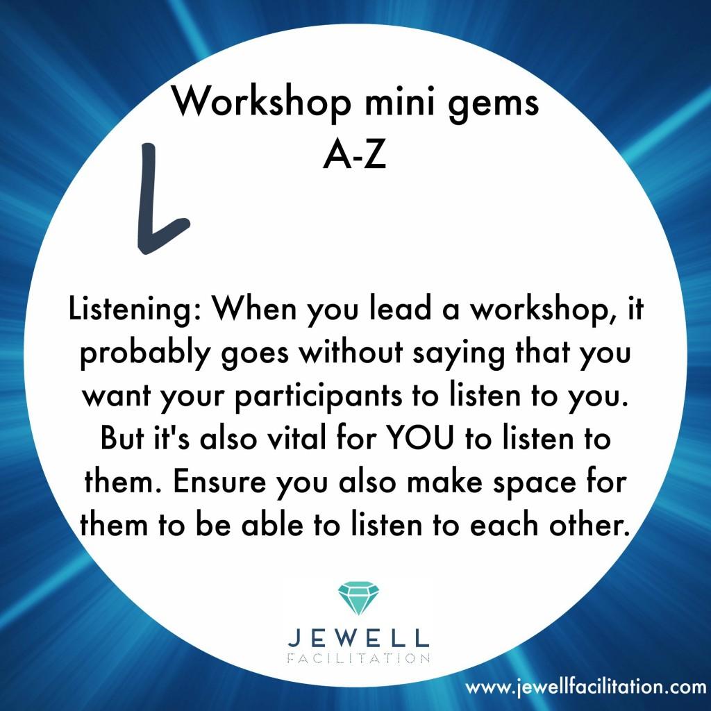 mini gems Listening