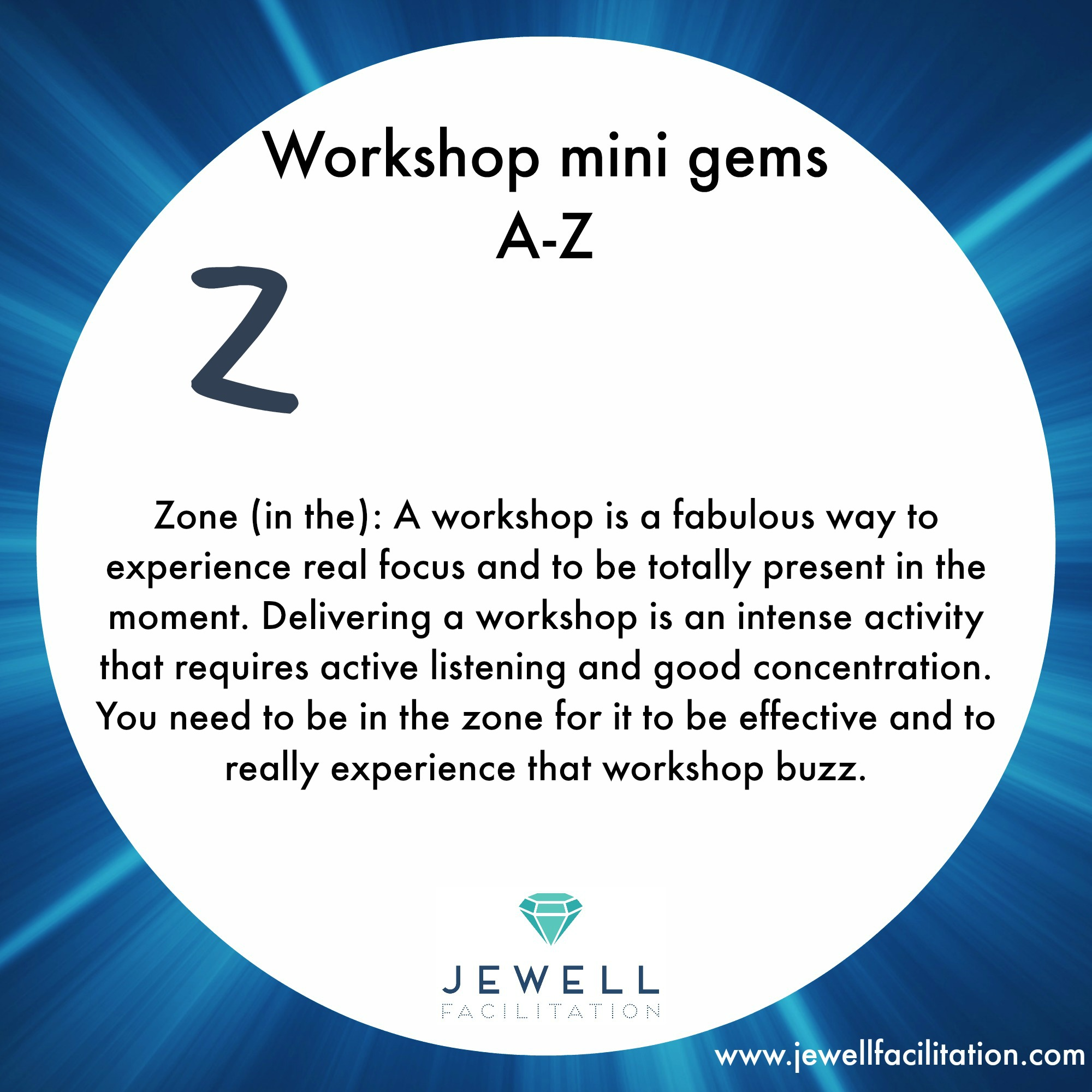 A-Z of Workshop Minigems part 4 – Tools to Zone