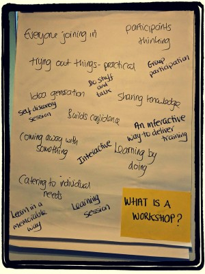 What is a Workshop Anyway?